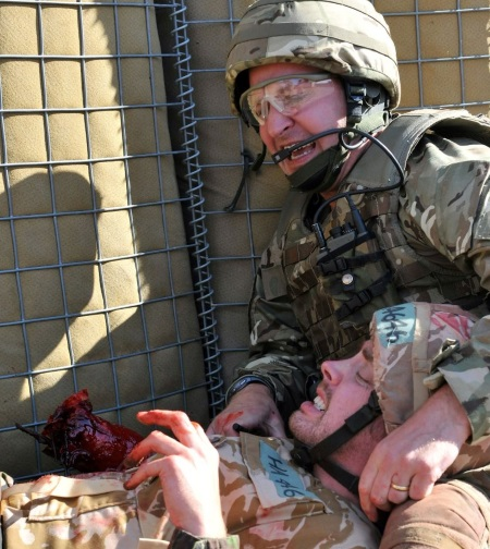 Military Casualty Simulation Training IED Blast
